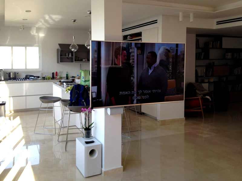 עיצוב מערכת קולנוע בסלון