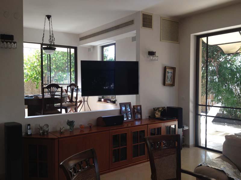 מערכת קולנוע ביתי בבית פרטי בראשון לציון